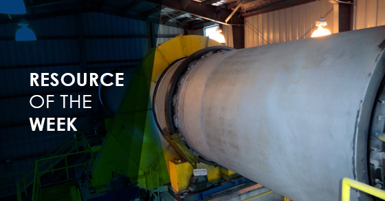 Resource of the Week: Frac Sand Dryer Project Profile