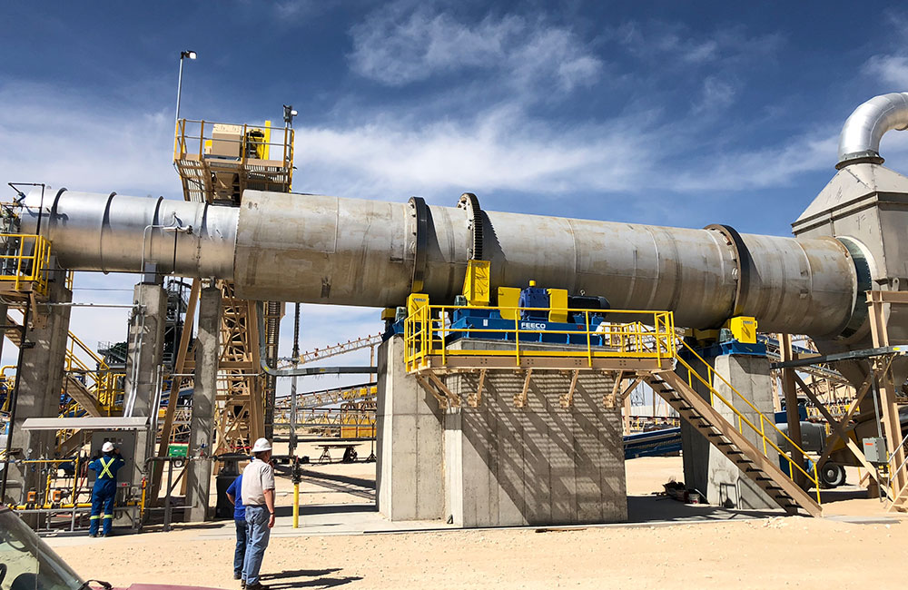 Frac Sand Dryers (Driers)