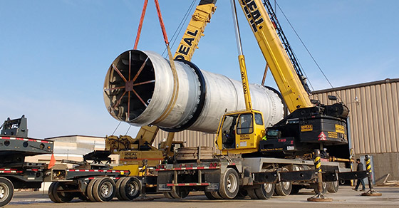 Rotary Dryers for Frac Sand
