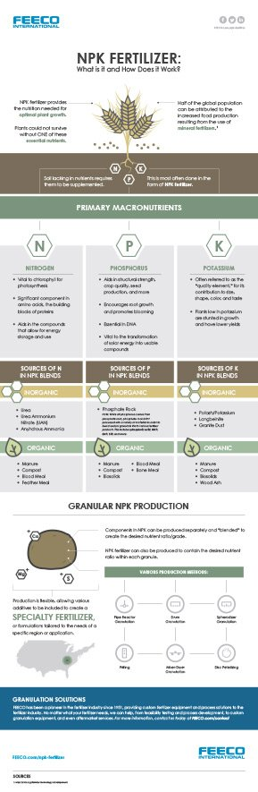 NPK Fertilizer (Fertiliser) Infographic