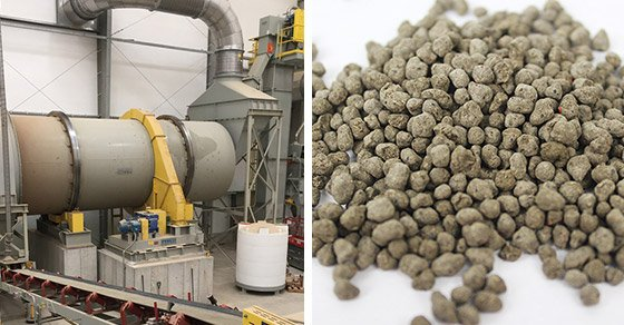 Granular Fertilizer(Fertiliser) and Soil Amendment Equipment/Granulation System and Product