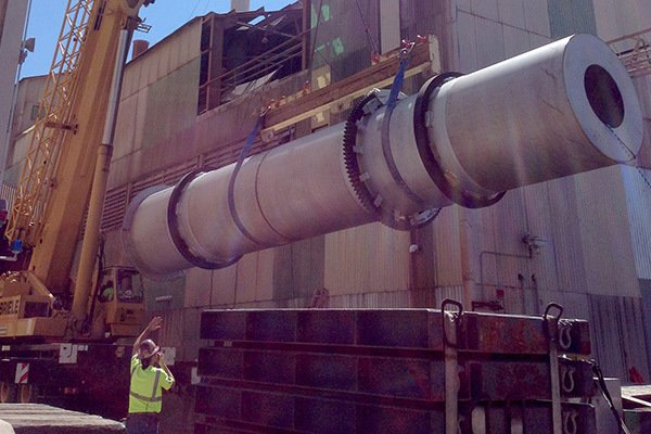 Direct-Fired Rotary Kiln