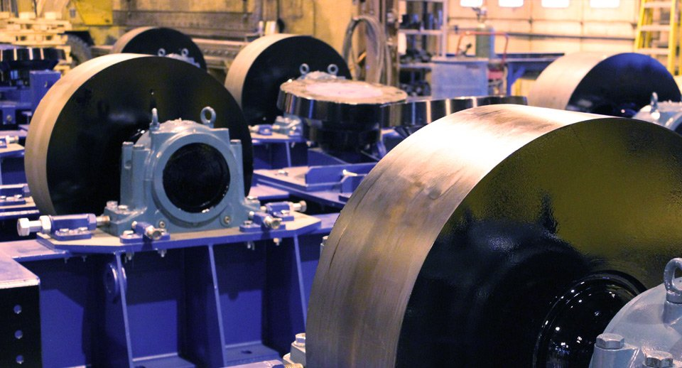 Rotary Drum Trunnion Wheels (Rollers)