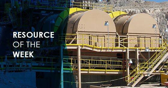 Resource of the Week: Mining Production Equipment Brochure