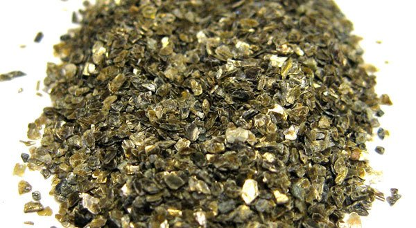 Vermiculite Dried in a Rotary Dryer (Drier)