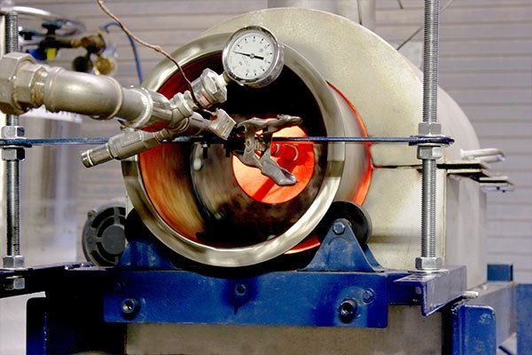 Indirect Batch Rotary Kiln Testing, Batch Calciner Testing, Thermal Process Development