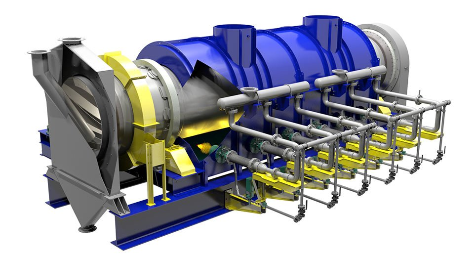 3D Model of a FEECO Carbon Activation Kiln
