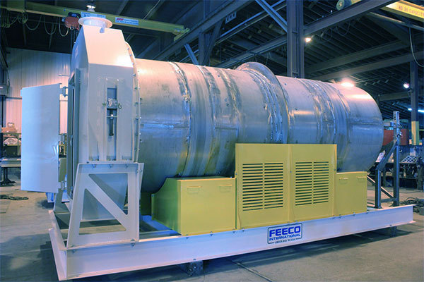FEECO Fertilizer (Fertiliser) Coating Drum