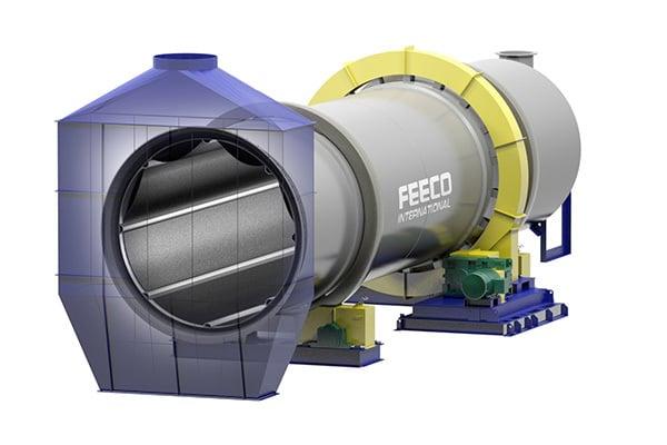 3D FEECO Rotary Granulator (Granulation Drum)