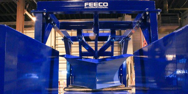 FEECO Belt Plow for Fertilizer (Fertiliser)