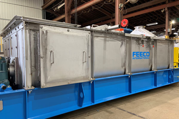 FEECO Pugmill for Potash Glazing