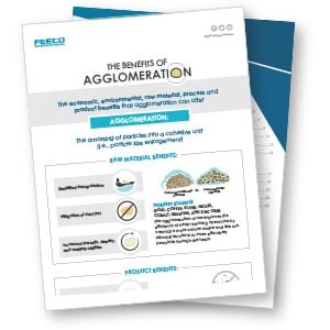 Benefits of Agglomeration Infographic