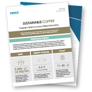 Copper in a Low-Carbon Economy Infographic