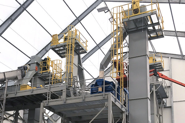 Bucket Elevator Platforms and Safety Cages