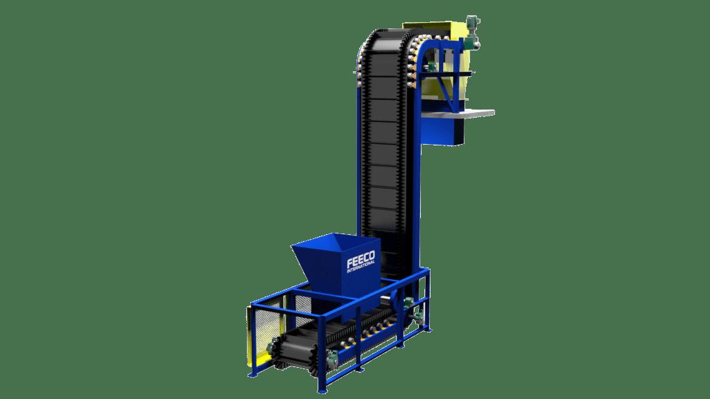 Steep Incline Conveyor
