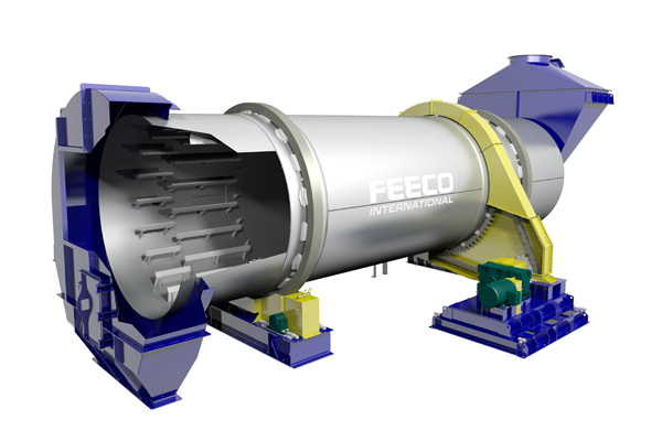 Direct Rotary Cooler