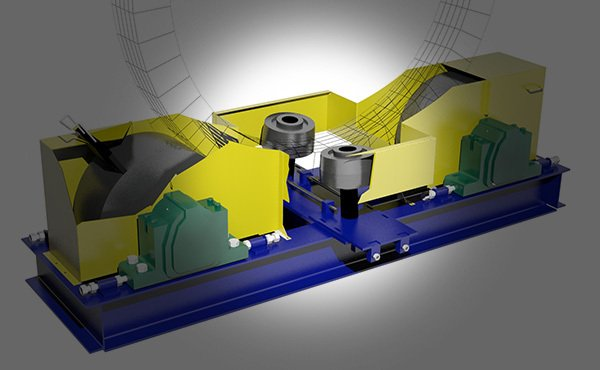 Rotary Drum Thrust Rollers