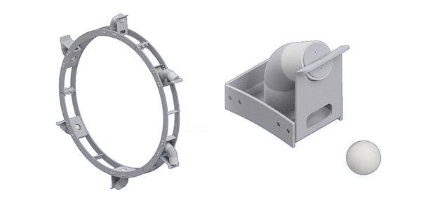 Ball and Tube Knockers for Rotary Drums